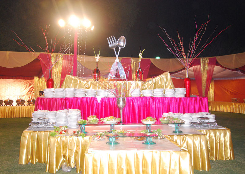 ... Stage Decor; Tentage; Cattering & Gallery
